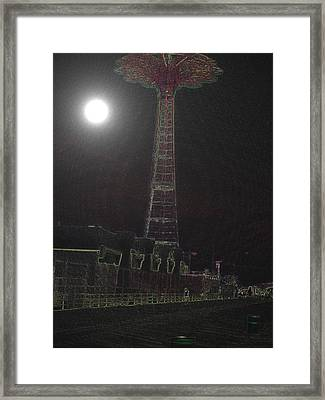 Moonlight Framed Print by King Mezidor