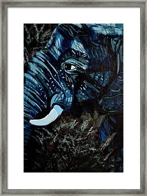 Moonlight Matriarch Framed Print