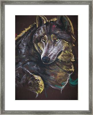 Moonlight Prey Framed Print