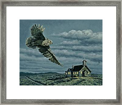 Moonlight Quest   Framed Print