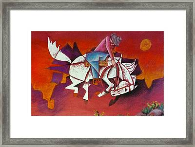Moonlight Ride Framed Print