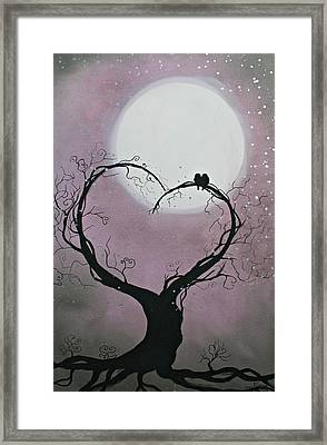Moonlight Romance Framed Print