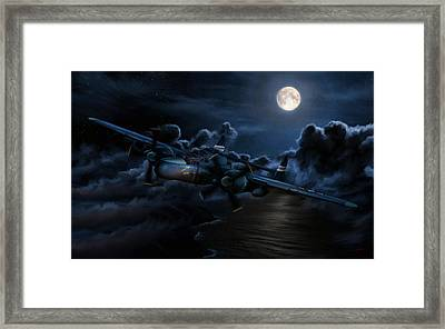 Moonlight Serenade Framed Print by Dale Jackson