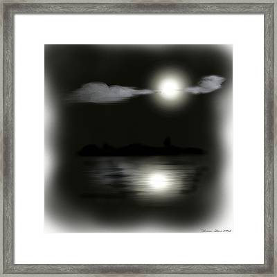 Moonlight Framed Print by Shanna Hare