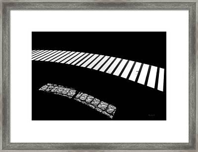 Moonlight Under The Highway Framed Print by Bob Orsillo