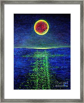 Moonlight Framed Print by Viktor Lazarev