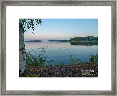 Moonlight Water Framed Print