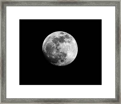Framed Print featuring the photograph Moonlit Dreams by Chris Fraser