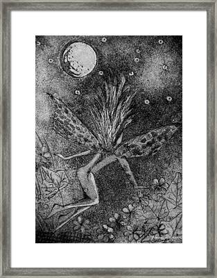 Moonlit Path Framed Print by Stacey Pilkington-Smith
