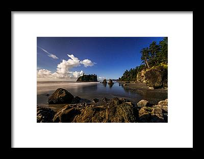 Olympic National Park Framed Prints