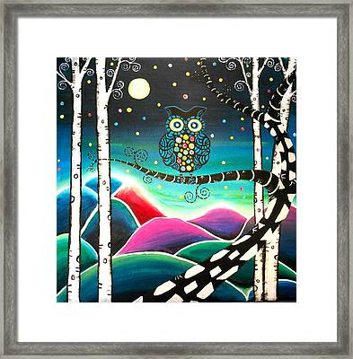 Moonlit View Framed Print