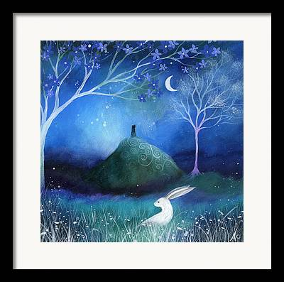 Mystical Landscape Framed Prints