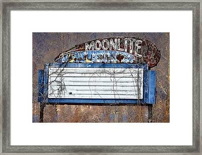 Moonlite Framed Print by Bill Cannon