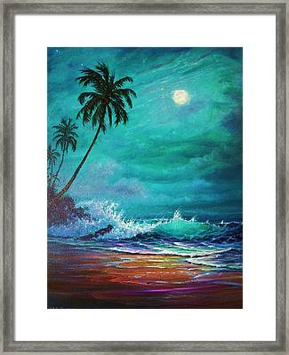 Moonlite Serenade Framed Print by Joseph   Ruff