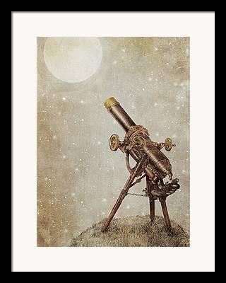 Telescope Framed Prints