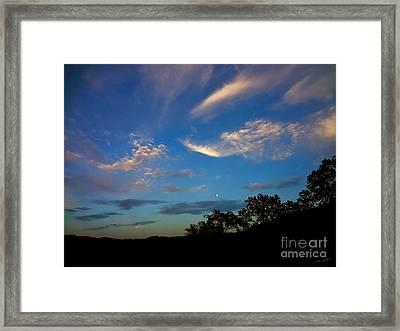 Moonrise Hill Framed Print