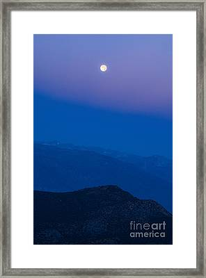 Moonrise Framed Print by Jamie Pham