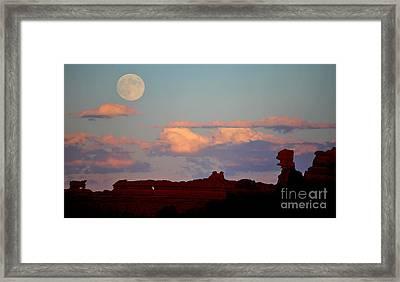 Moonrise Over Goblins Framed Print