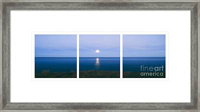 Moonrise Framed Print by Sabine Jacobs