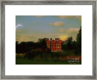 Moonrise - Sunset Framed Print by RC DeWinter