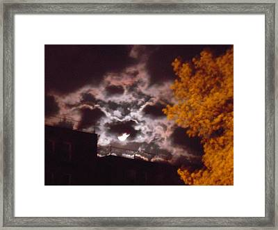Moons Framed Print by Anastasia Konn