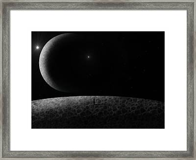 Moons Framed Print by Ricky Haug