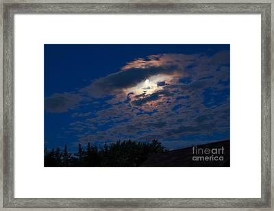 Moonscape Framed Print by Robert Bales