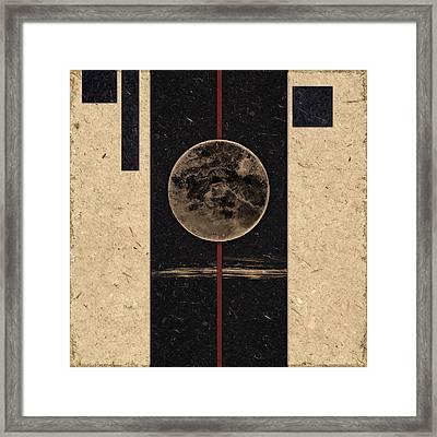Moonset Framed Print by Carol Leigh