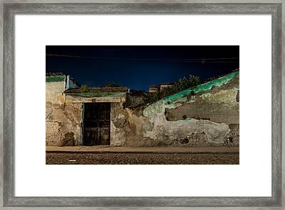Moonshine Framed Print by Christian Santizo