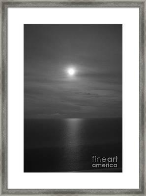 Moonshine Framed Print by Jennifer E Doll