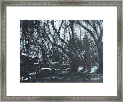 Moonshine Framed Print by Mary Lynne Powers