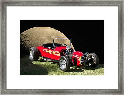 Moonshine Model T Framed Print by Dave Koontz
