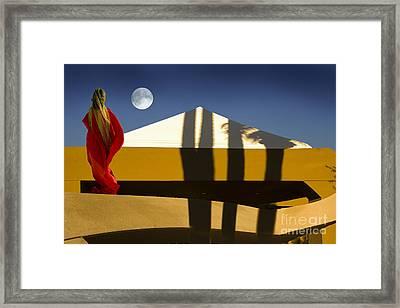 Moonstella Framed Print