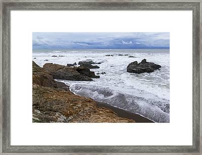 Moonstone Beach Surf 3 Framed Print