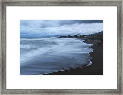 Moonstone Beach Surf 2 Framed Print