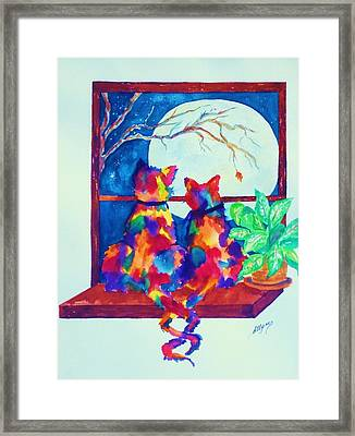 Moonstruck Ll Framed Print