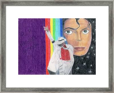 Moonwalker Framed Print by Bav Patel