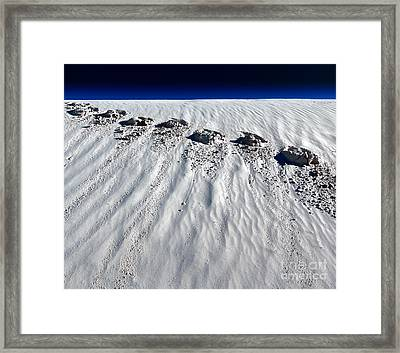 Moonwalking Framed Print