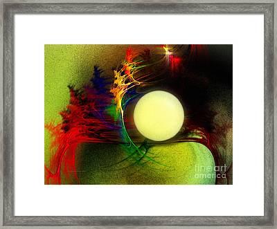 Moony Framed Print