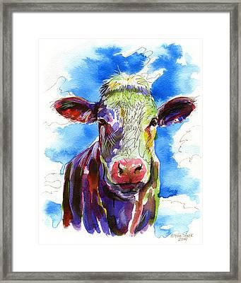 Moooo Framed Print by Bill Stork