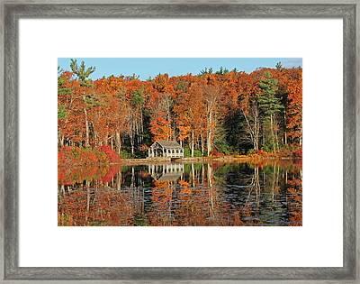 Moore State Park Autumn I Framed Print