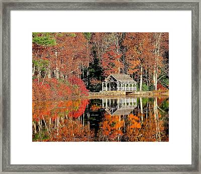 Moore State Park Autumn II Framed Print