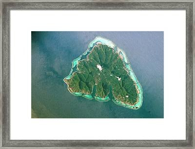 Moorea Framed Print by Nasa
