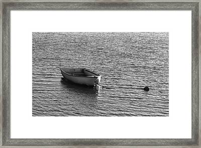 Moored Framed Print