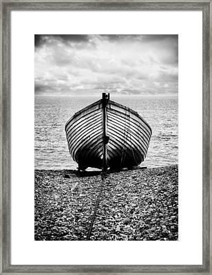 Moored Framed Print by Mark Rogan