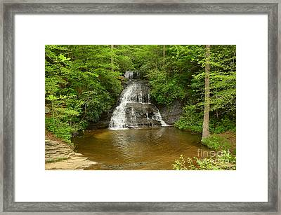 Moores Creek Falls Framed Print