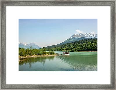 Moose Pass In Alaska Framed Print