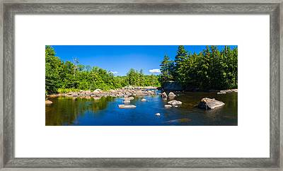 Moose River In The Adirondack Framed Print by Panoramic Images