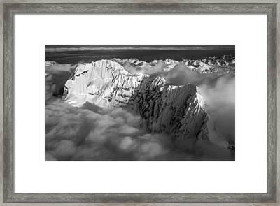 Mooses Tooth Northside Framed Print