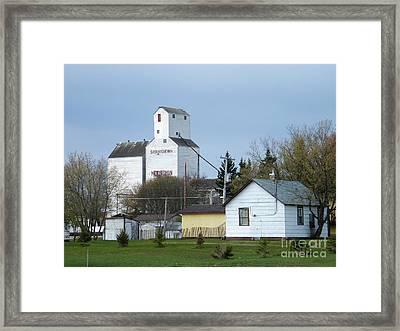 Moosomin - Saskatchewan - Canada Framed Print by Phil Banks